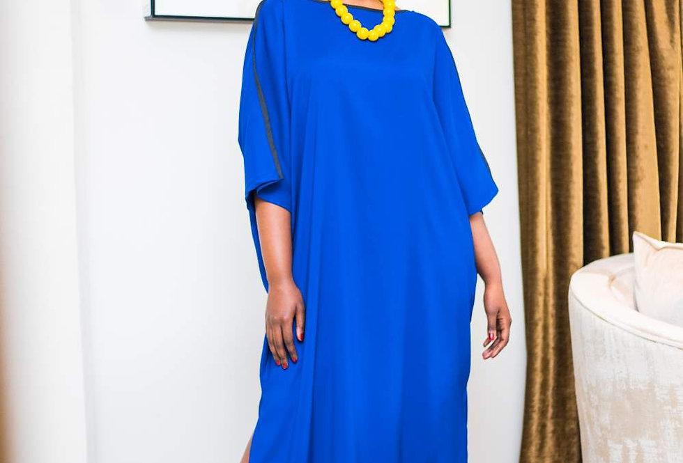 Lola Kaftan Ink Blue