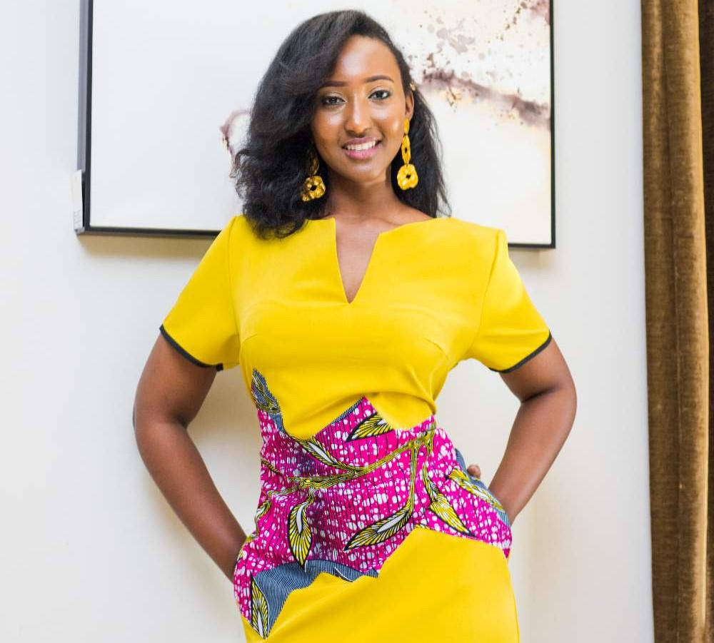 JIDEKA Salia African print dress