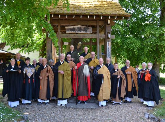 Intronisation du nouvel abbé de la Gendronnière