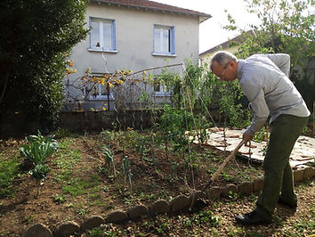 Le jardinage au Dojo