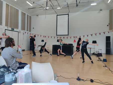 Keep it Moving: Working with Luke Brown Dance