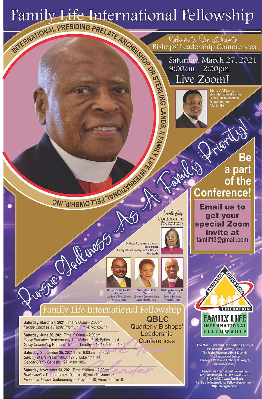 Bishop's Leadership Conference