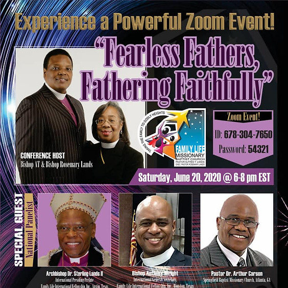 Fearless Fathers Fathering Faithfully