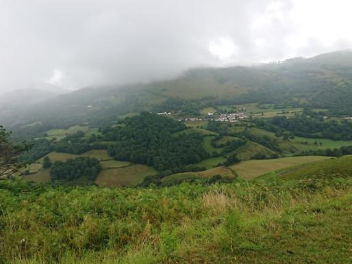 Ahusquy, le col Basque