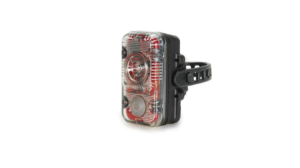 Le feu arrière avec homologation StVZO et une batterie extra large