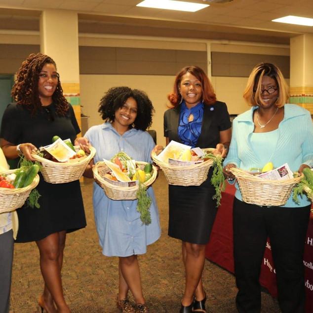School Nutrition Bounty Baskets