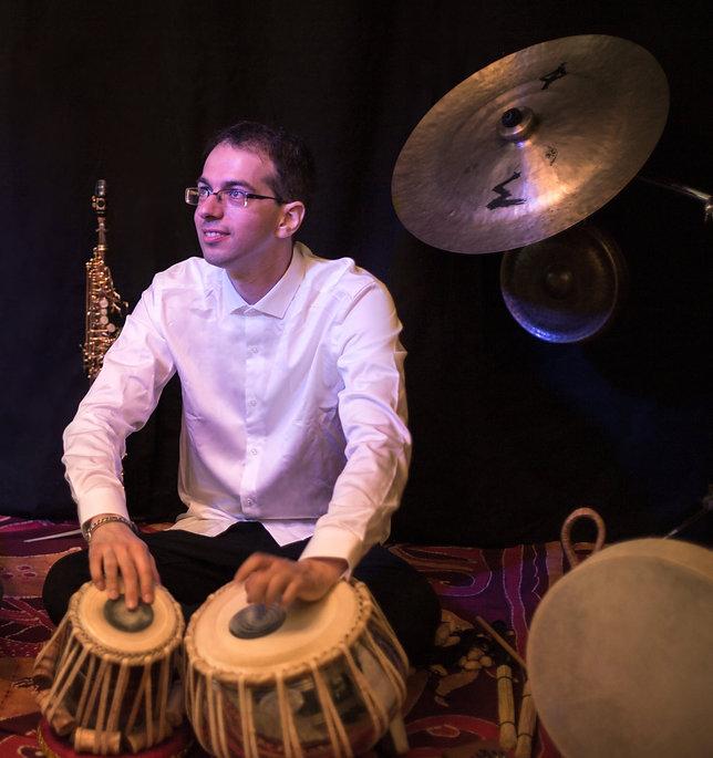 Alexandre Brun, Spectale solo, Musique du monde, Tablas, Flûte bansuri, Clermont-Ferrand