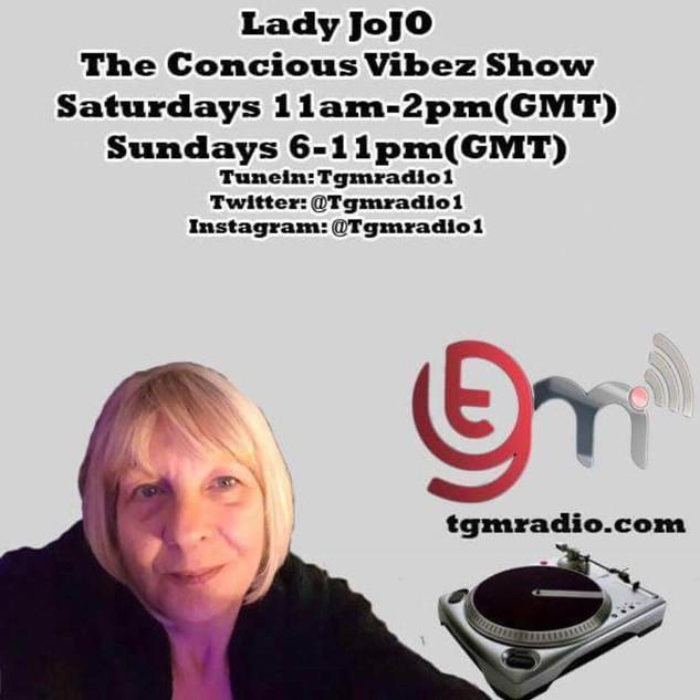 Lady Jo Jo The Concious Vibez Show