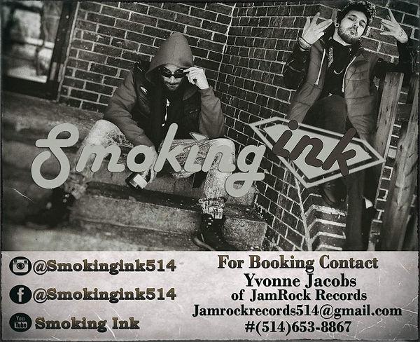 Smoking Ink Bookings Poster