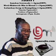 Father T Sunday Serenaide, Mid Week Mix & Blend, Soup & Dumpling