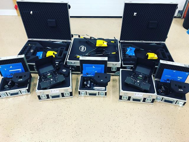Our new fleet of Intel Falcon 8+ drones