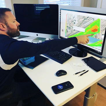 Travis working on a map using #simactive