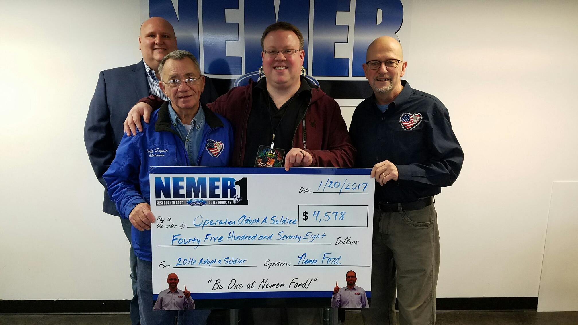 Thank You To Nemer Auto Group