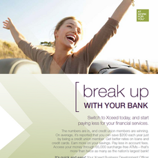 """""""Break Up With Your Bank"""" Campaign"""