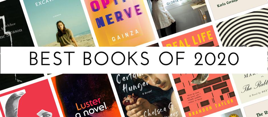 Jessica Maria's Best Books of 2020