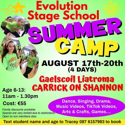 Carrick Summer Camp Deposit