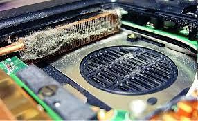 Чистка ноутбука от пыли