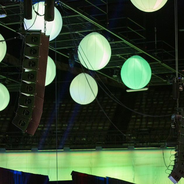 Ambient Pro Line Array Rigging