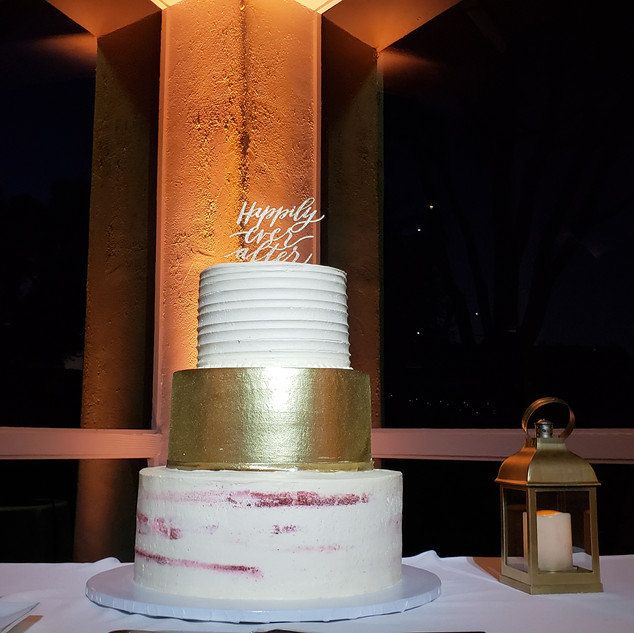Wedding Cake Lighting by Abient Pro