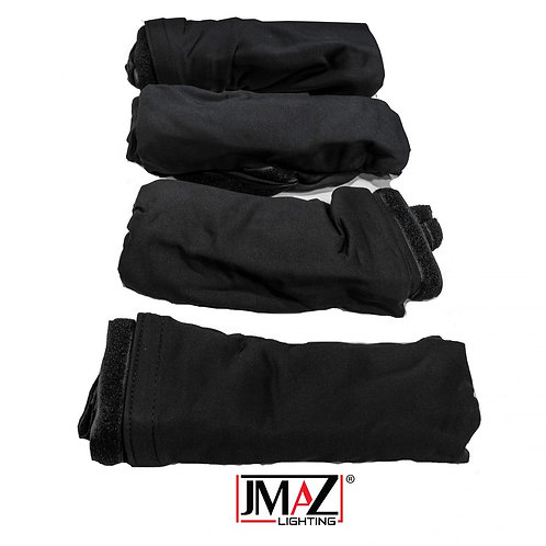 Event Booth Facade Replacement Scrim (Black)
