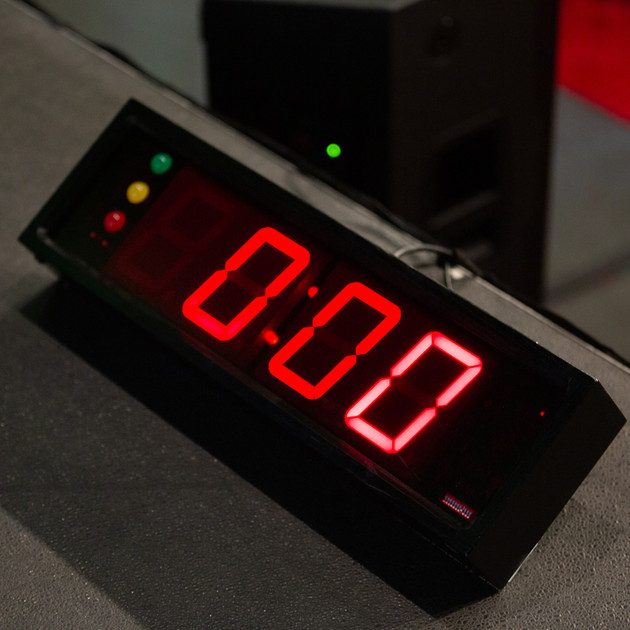 Stage Clock by Ambient Pro