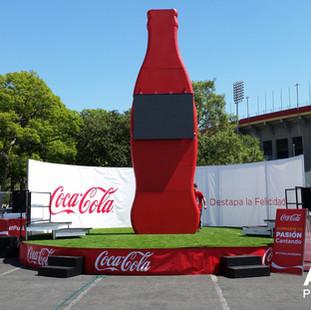 Coca Cola Event Desing Ambiet Pro