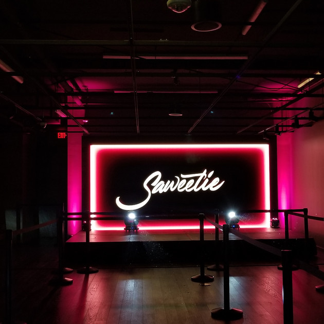 Ambient Pro Saweetie Performance Lighting and Stage