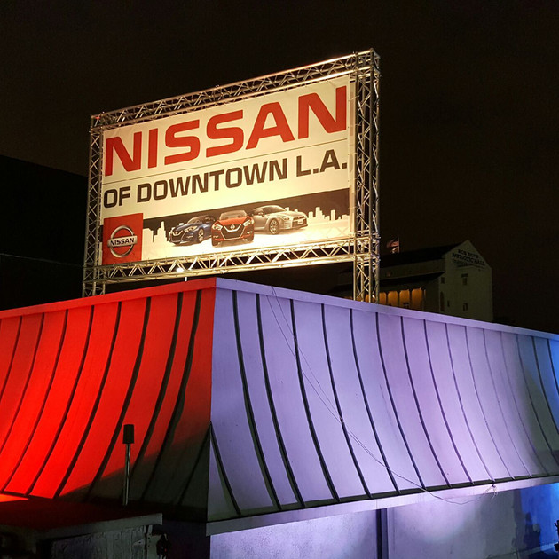 Ambient Pro Nissan of Dtla Roof