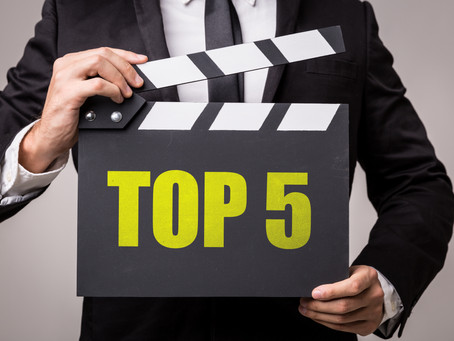 My Top Five Books and Movies of 2020