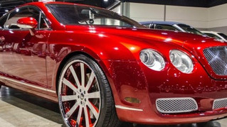 Candy Red Bentley