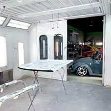 Custom Paint Spray Room
