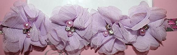 Lavender Purple Flower Crown