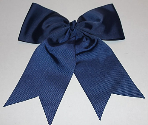 Navy Blue Cheer Bow