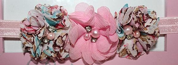 Pink & Floral Flower Crown