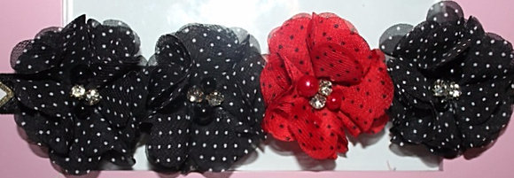 Red & Black Polka Dot