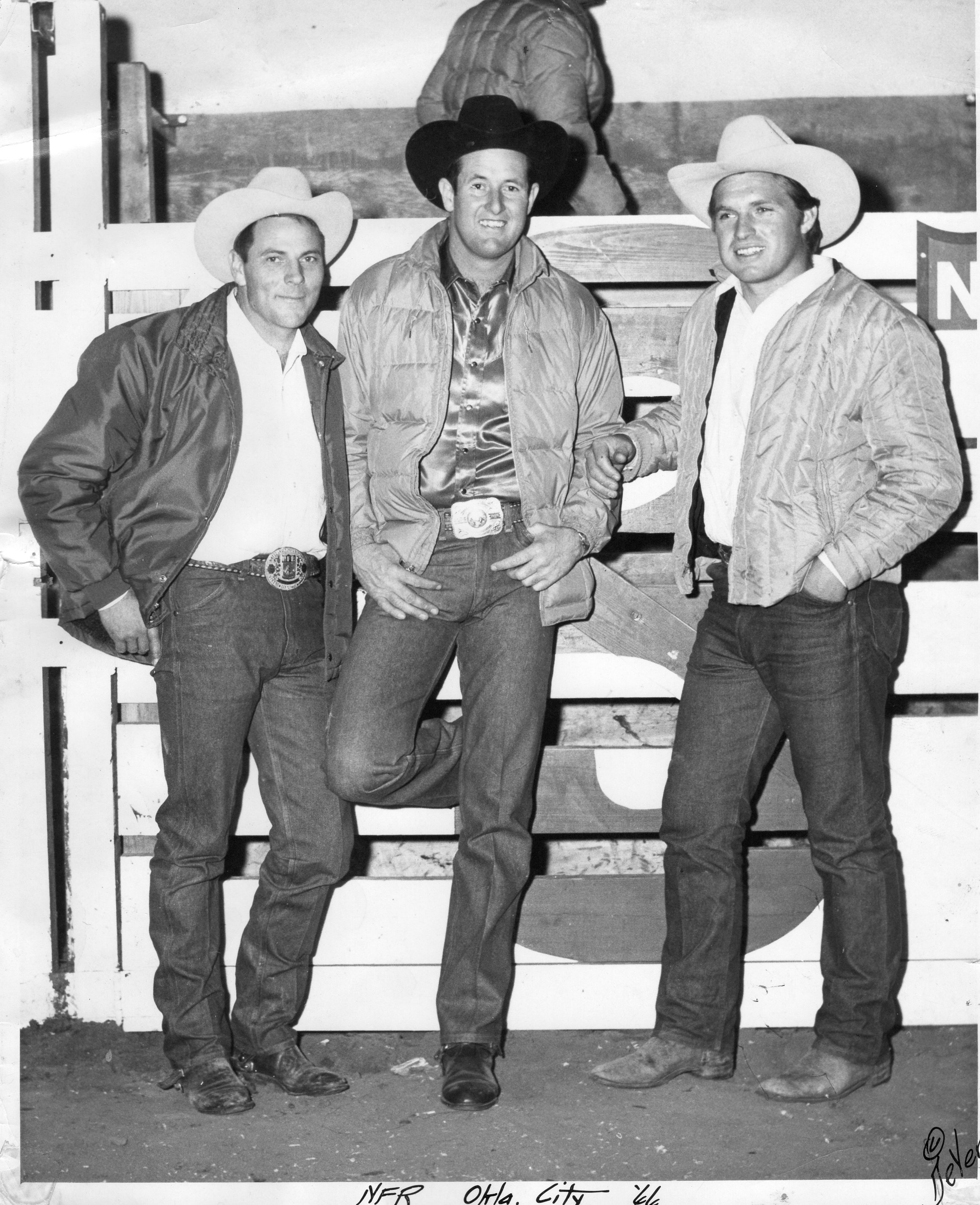 1966 NFR Oklahoma Photo DeVere