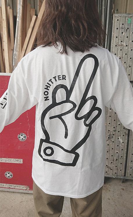 "NO HITTER ""FU*K"" Long Sleeve T-shirts"