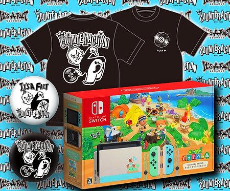 KLUB COUNTER ACTION チャリティ「Nintendo Switch あつまれ どうぶつの森セット」