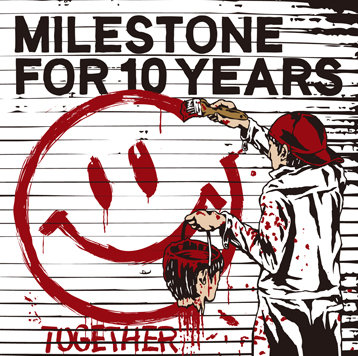 "Milestone for 10 Years ""TOGETHER"" CD"