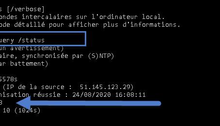 Synchroniser le temps NTP  avec Hyper-V