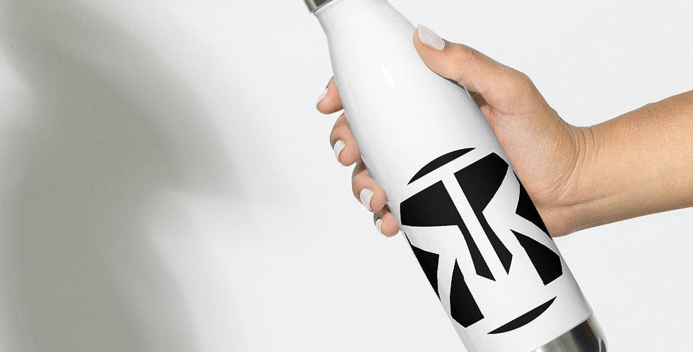 RRA Stainless Steel Water Bottle Logo 1