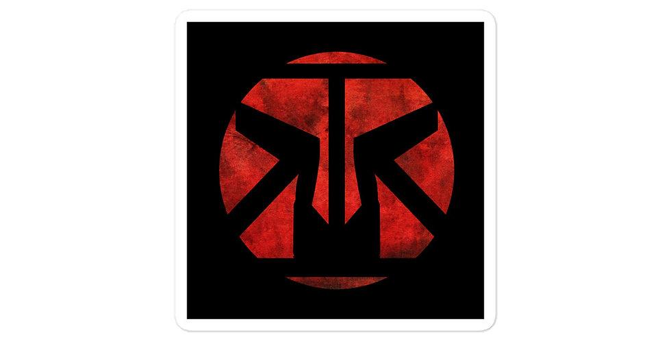RRA Red & Black Sticker