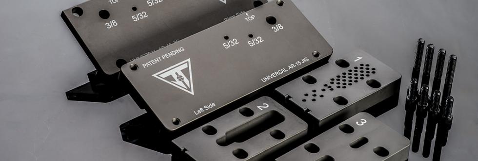 Juggernaut Tactical AR-15 Adjustable Universal Jig Kit for 80% Lower