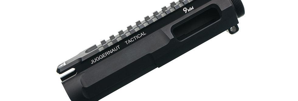 Juggernaut Tactical AR-9 Billet Upper Receiver