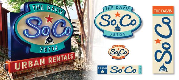 The Davis SoCo Logo