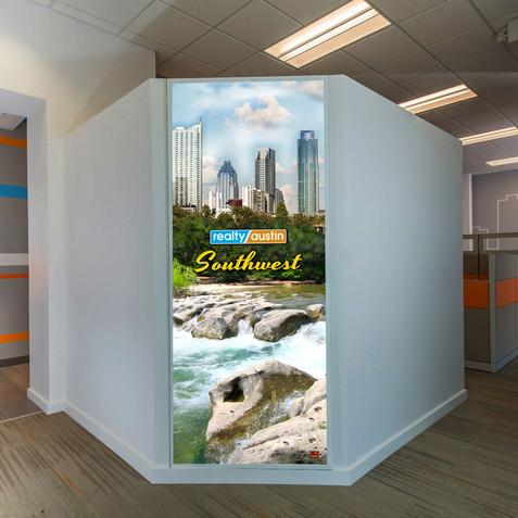 Backlit Wall