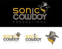Sonic Cowboy Logo Design