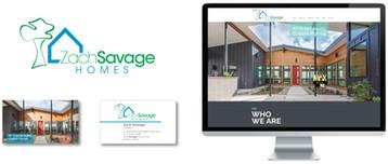 Zach Savage Website and Logo Design