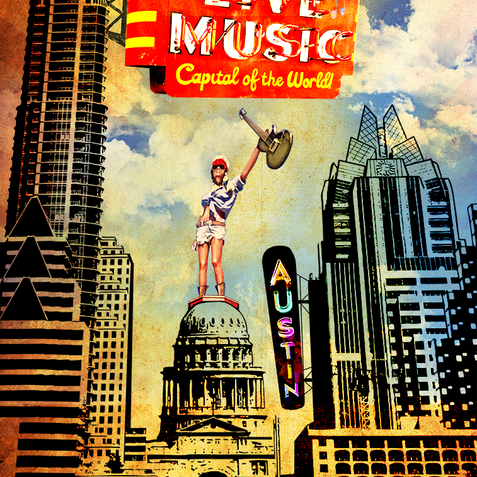 Live Music Capital of the World Design