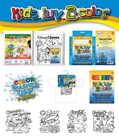 Kids Luv 2 Color Designs